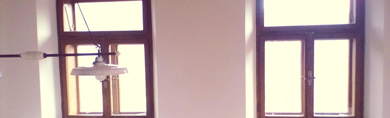 Dřevěná špaletová okna